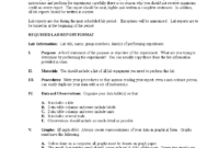 Physics Lab Report Format | Templates At in Physics Lab Report Template