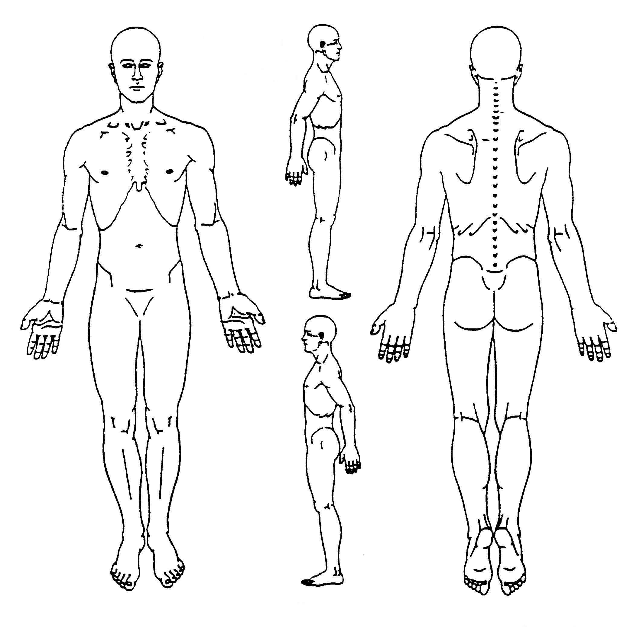 Pin On Body Diagram Regarding Blank Body Map Template