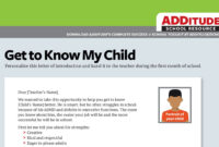 Pin On Chase intended for Daily Report Card Template For Adhd
