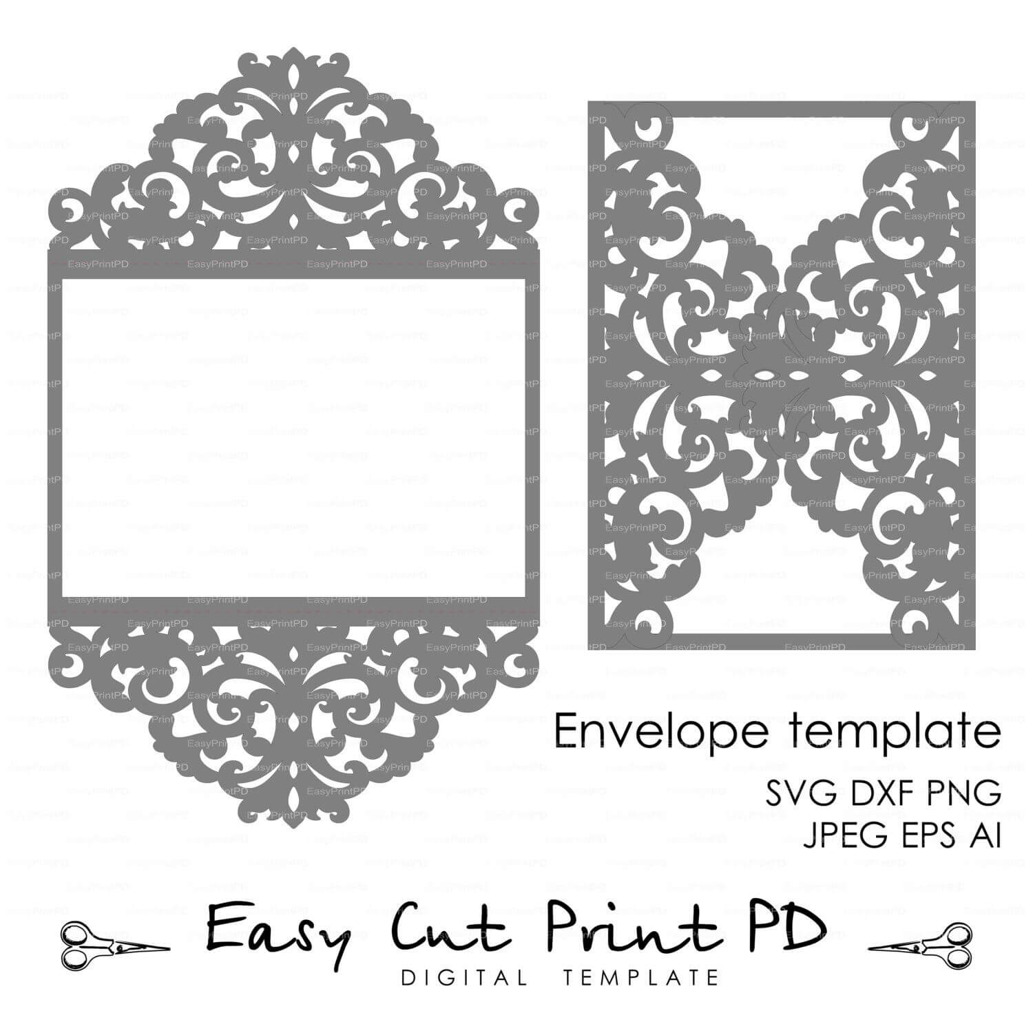Pin On Crafty Within Silhouette Cameo Card Templates