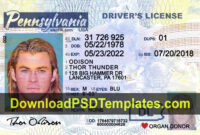 Pin On Docs with regard to Blank Drivers License Template