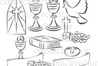 Pin On Holy Communion Cakes for First Holy Communion Banner Templates