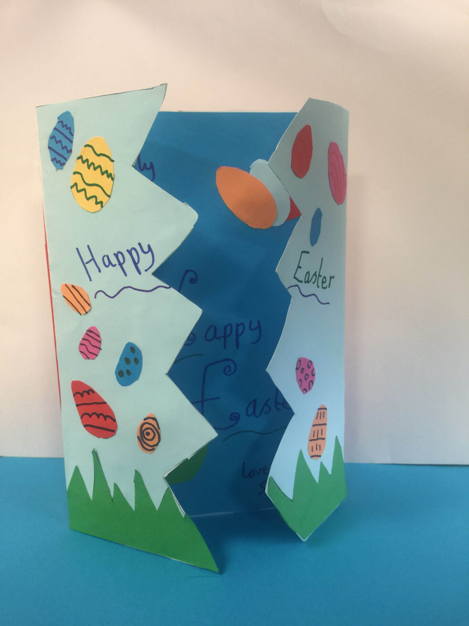 Pin On Outdoor Pertaining To Easter Card Template Ks2