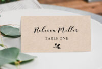 Pin On Wedding Ideas with Ms Word Place Card Template