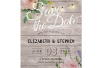 Pin On { Wedding Invitations , Favors , And More! } in Save The Date Cards Templates