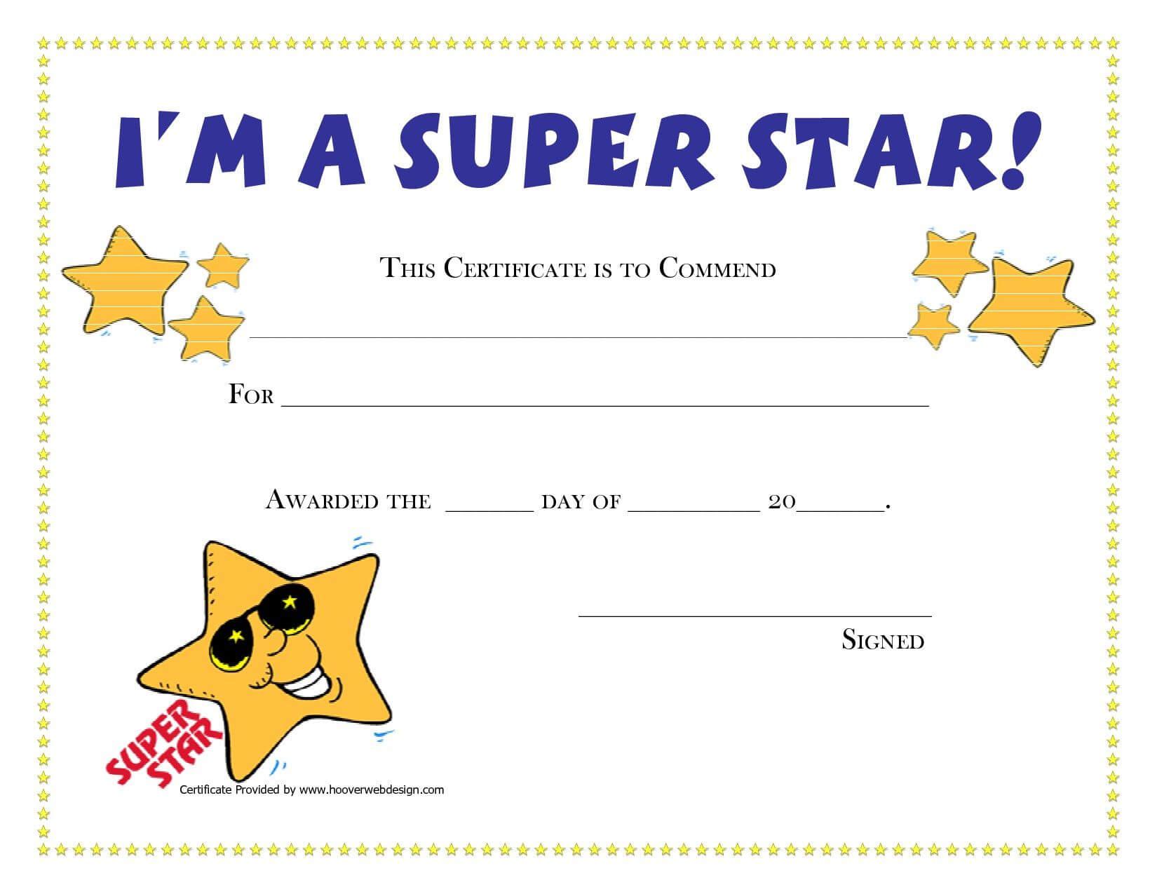 Pinamanda Crawford On Teaching Music And Loving It Regarding Star Of The Week Certificate Template