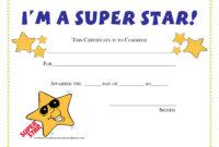 Pinamanda Crawford On Teaching Music And Loving It throughout Star Award Certificate Template