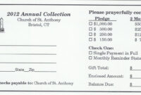 Pinandrew Martin On Pledge Cards | Card Templates, Id for Fundraising Pledge Card Template