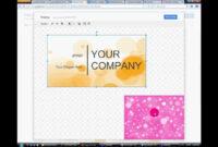 Pinanggunstore On Business Cards regarding Business Card Template For Google Docs