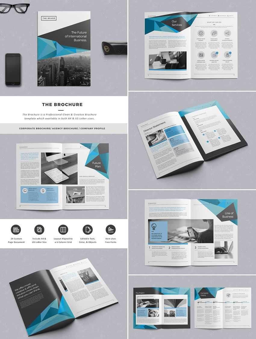 Pincsmsjl On Design | Indesign Brochure Templates Pertaining To Brochure Template Indesign Free Download