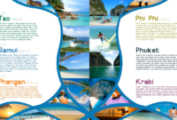 Pinfarideh On Brochure Design | Travel Brochure, Travel within Island Brochure Template