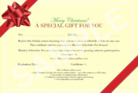 Pinjoanna Keysa On Free Tamplate | Gift Certificate intended for Homemade Christmas Gift Certificates Templates