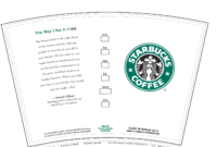 Pinjz Friday On Cositas Interesantes | Mini Coffee Cups throughout Starbucks Create Your Own Tumbler Blank Template