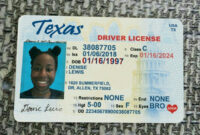 Pinkato O'dell On Drivers License | Id Card Template within Texas Id Card Template