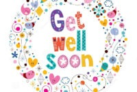 Pinlinda Nelson On Get Well | Get Well Soon Images, Get in Get Well Card Template