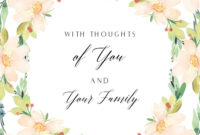 Pinmichelle Painter On Condolences | Free Printable regarding Sympathy Card Template