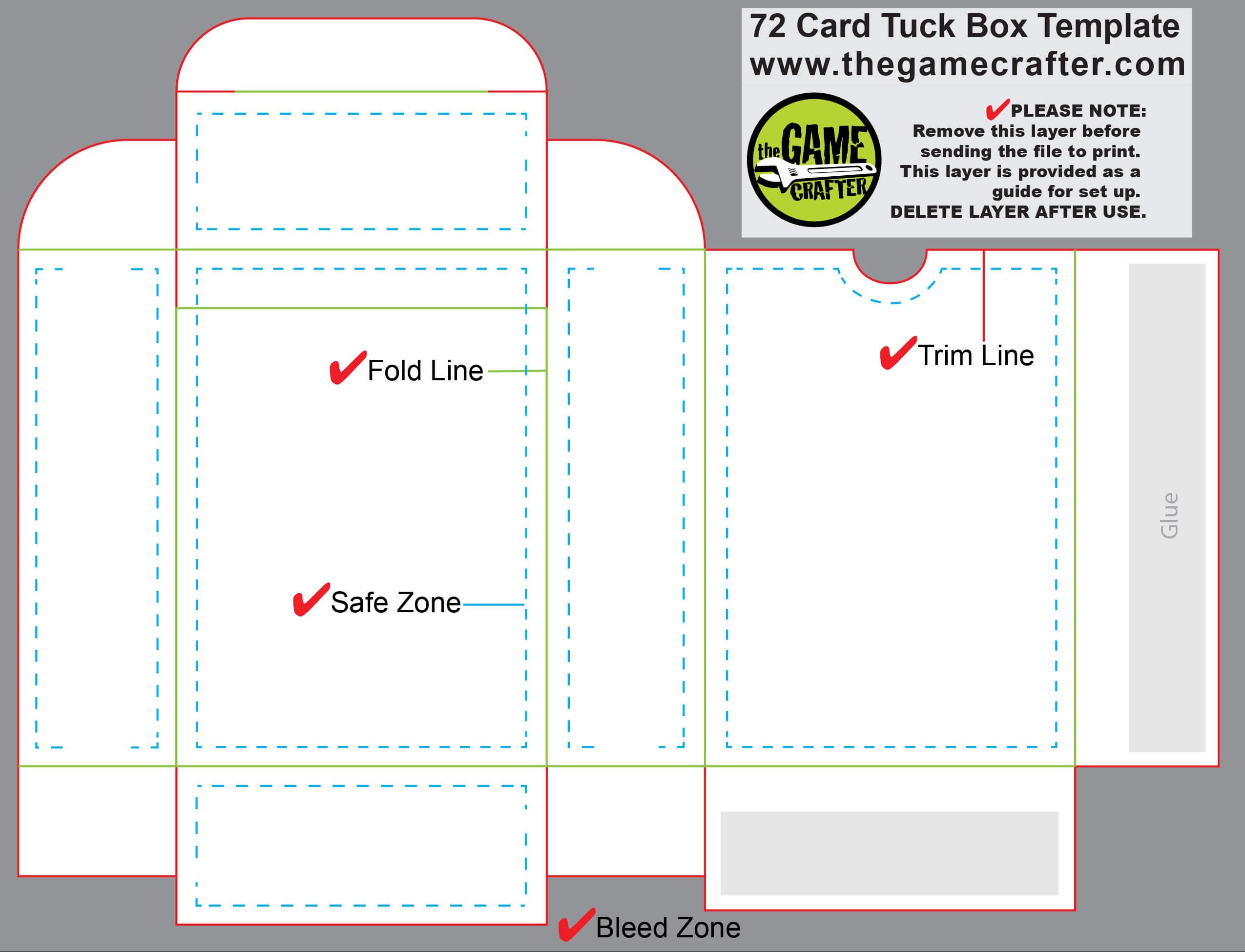 Pinmo W. On Tarot & Oracles - Bags | Custom Playing In Card Box Template Generator