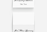 Pinplace Cards Online On 10 Stunning Fonts For Diy regarding Celebrate It Templates Place Cards
