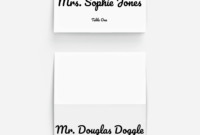 Pinplace Cards Online On 10 Stunning Fonts For Diy throughout Celebrate It Templates Place Cards