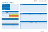 Pinscott Gibson On Earth | Project Status Report, Notes regarding One Page Project Status Report Template