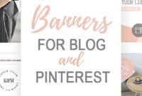 Pinterest Templates. Web Banner Templates. Ad Banners. Blog inside Free Etsy Banner Template