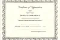 Pintreshun Smith On 1212 | Certificate Of Appreciation inside Certificate Of Appreciation Template Free Printable
