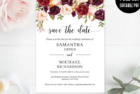 Pinvioleta Pironkova On Wedding Invitations | Save The throughout Save The Date Powerpoint Template