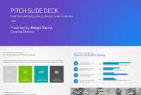 Pitch Deck Business Plan Powerpoint Template | Business Plan for Where Are Powerpoint Templates Stored