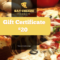 Pizzeria Restaurant Gift Certificate Template | Gift inside Pizza Gift Certificate Template