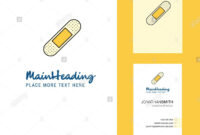 Plaster Creative Logo And Business Card. Vertical Design intended for Plastering Business Cards Templates