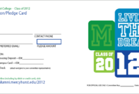 Pledge Card Template – Fossil.adtddns.asia regarding Free Pledge Card Template