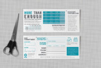 Pledge Cards & Commitment Cards | Church Campaign Design in Fundraising Pledge Card Template