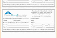 Pledge Forms Template Awesome 55 Inspirational Graph with Donation Card Template Free