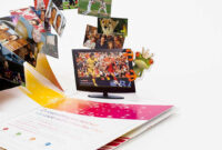 Pop-Up Brochure Design And Printing – Papersmyths pertaining to Pop Up Brochure Template