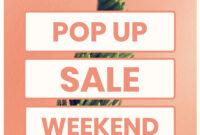 Pop Up Marketing Flyer Template inside Pop Up Brochure Template