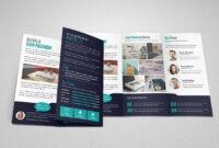 Portfolio Trifold Brochure Design #idml#illustrator#version within Brochure Templates Adobe Illustrator