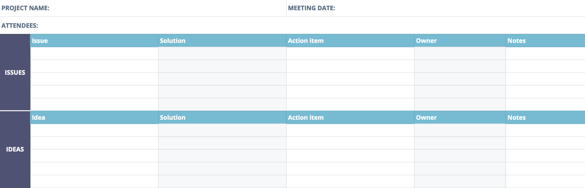 Post Mortem Meeting Template And Tips | Teamgantt Within Post Project Report Template