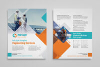 Power Engineering Services Flyer Template | Vectogravic Design in Engineering Brochure Templates Free Download