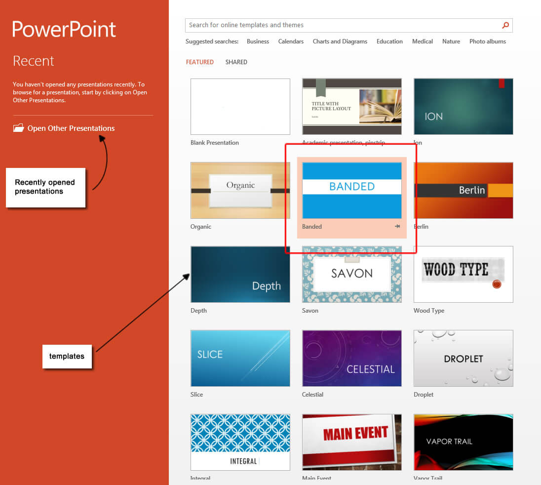 Powerpoint 2013 Templates – Microsoft Powerpoint 2013 Tutorials Inside Powerpoint 2013 Template Location