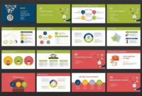 Powerpoint Presentation Template : Digital Marketing for Strategy Document Template Powerpoint