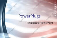 Powerpoint Template: American Flag Patriotic United States within Patriotic Powerpoint Template