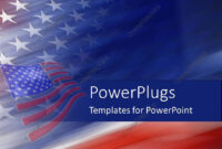 Powerpoint Template: American Flag United States God Bless for American Flag Powerpoint Template