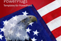 Powerpoint Template: American Flag With Bald Eagle In for American Flag Powerpoint Template