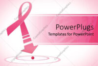 Powerpoint Template: Breast Cancer Awareness Pink Ribbon with Breast Cancer Powerpoint Template