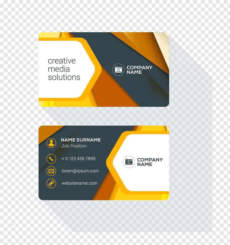 Powerpoint Template, Business Card Design Logo, Business For Business Card Template Powerpoint Free