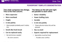 Powerpoint Template Demonstration – Ppt Download For Nyu Powerpoint Template