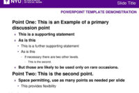 Powerpoint Template Demonstration – Ppt Download intended for Nyu Powerpoint Template