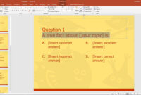 Powerpoint Template For A Multiple Choice Quiz with regard to Powerpoint Quiz Template Free Download