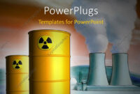 Powerpoint Template: Radioactive Waste From A Nuclear Power within Nuclear Powerpoint Template