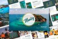 Powerpoint Template Tourism. Cool Powerpoint Template In Tourism Powerpoint Template